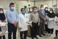 تجلیل از کارکنان آزمایشگاه بیمارستان امام خمینی (ره) به مناسبت روز علوم آزمایشگاهی (+تصاویر)