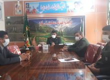 دیدار رئیس انجمن خبرنگاران با فرمانده سپاه ناحیه مقاومت بسیج کهگیلویه(+تصاویر)